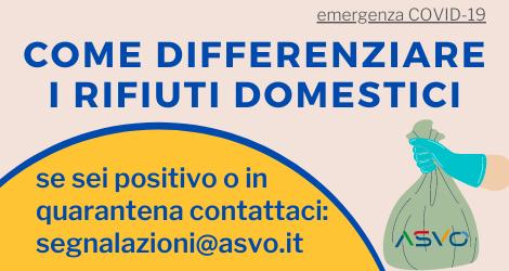Ambiente Servizi Veneto Orientale: come effettuare correttamente la raccolta differenziata in tempo di Covid