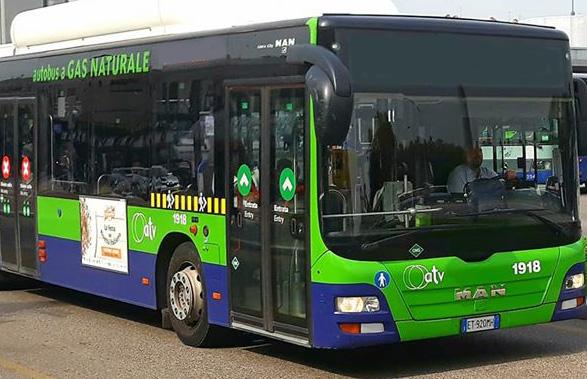 Deviazioni di percorso per lavori di alcuni autobus dell'Azienda Trasporti Verona sono previste per lunedì 30