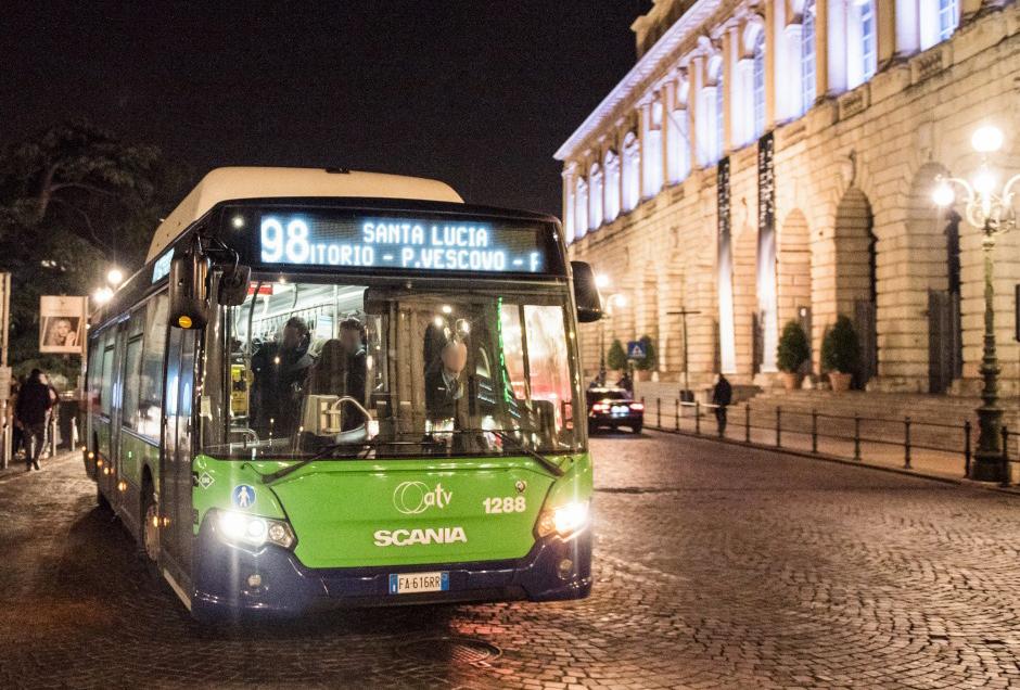 ATV ha ridotto le corse serali a Verona e deve deviare alcuni bus nel capoluogo scaligero e a Cologna Veneta