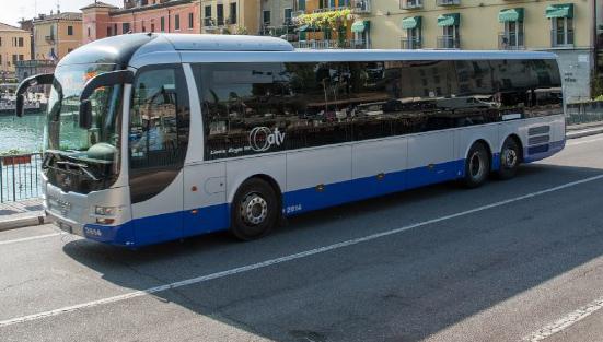 In questi giorni l'Azienda Trasporti Verona deve deviare alcuni autobus in cinque dei comuni serviti