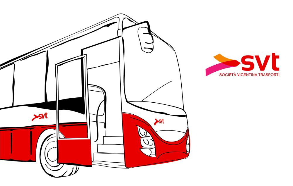 Fuori servizio a Solagna da oggi sino a venerdì due fermate della linea 201 della Società Vicentina Trasporti