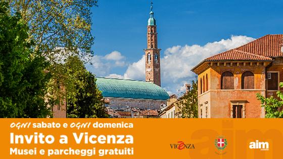 """""""Invito a Vicenza"""": gratuiti ogni sabato e domenica fino al 29 novembre il servizio Centrobus e i parcheggi Cricoli e Stadio"""