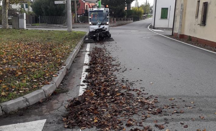 """Giovedì 12 novembre quarta tappa delle """"Pulizie Intensive"""" di AcegasApsAmga nel Comune di Ponte San Nicolò"""