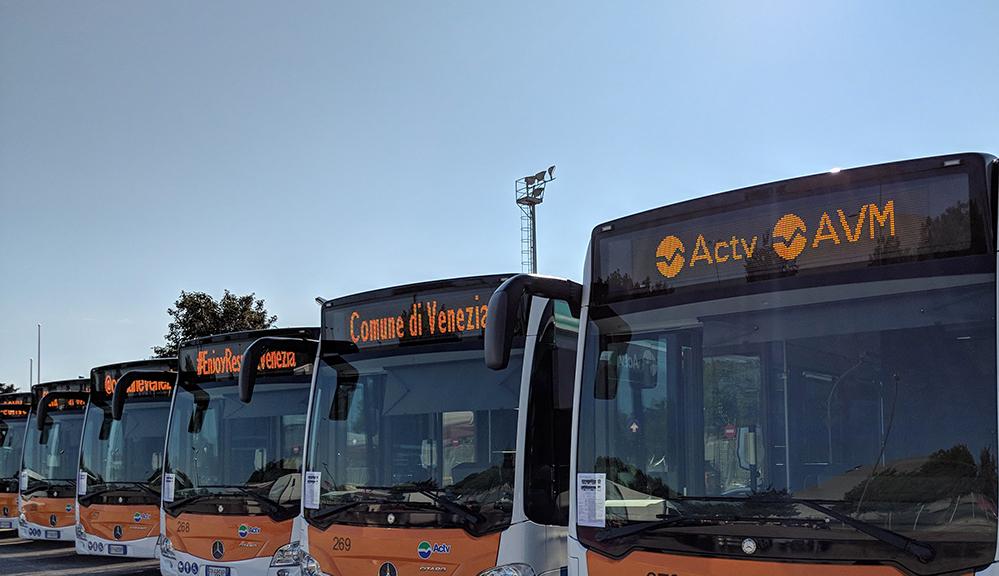DPCM del 3 novembre: ACTV Venezia introduce da oggi modifiche alle corse di alcuni autobus urbani ed extraurbani