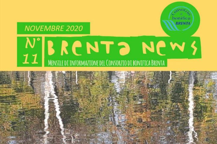 Il numero di novembre del periodico Brenta News è stato diffuso oggi. E'  consultabile anche on line