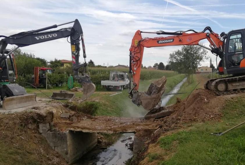 Il Consorzio di bonifica Brenta ha comunicato i lavori per la sicurezza idraulica del territorio in programma questo mese