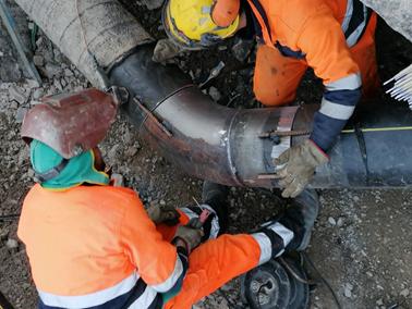 Bim Belluno Infrastrutture termina oggi i lavori per la nuova condotta del gas naturale in località Castellavazzo