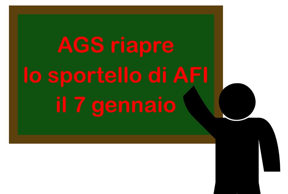 Chiuso sino al prossimo giovedì 7 gennaio lo sportello clienti di Affi dell'Azienda Gardesana Servizi