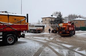 Piano neve a Vicenza: in azione già dalle prime ore di questa mattina gli spargisale e gli autocarri con lama AIM Amcps