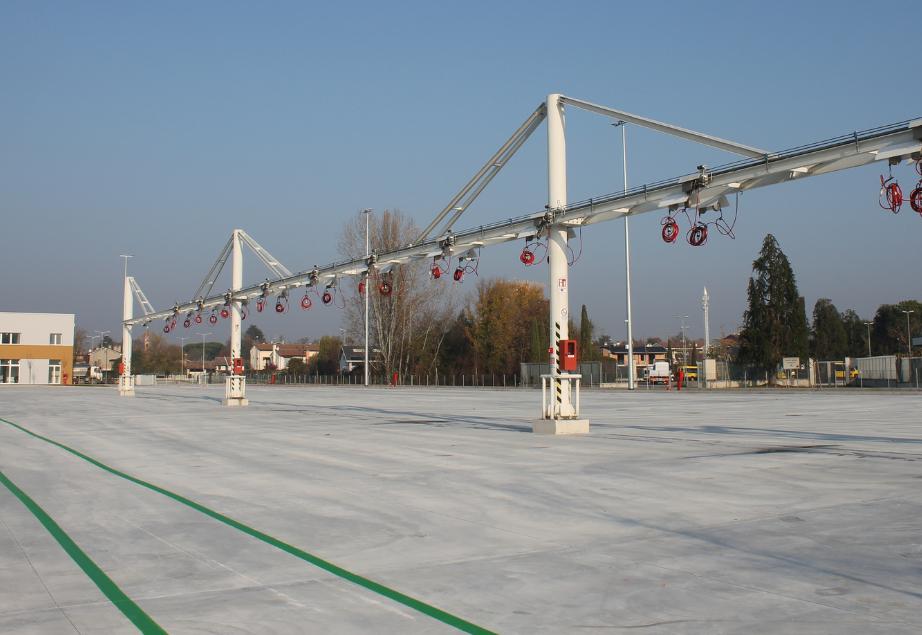 Mobilità di Marca ha annunciato la conclusione dei lavori per il nuovo polo logistico in via Castellana a Treviso