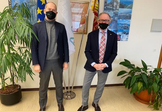 Nuovo direttore di Veneto Agricoltura: questa mattina il passaggio delle consegne tra Negro e Dell'Acqua