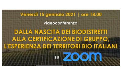 """Newsletter Agricoltura Veneta: videoconferenza sul tema """"Biodistretti in Italia, lo stato dell'arte"""" organizzato dall' ARGAV"""