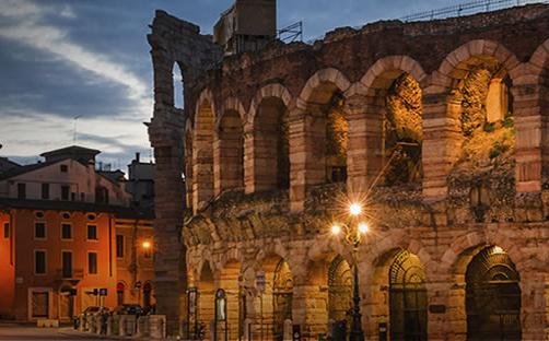 Dieci milioni di euro di lavori per migliorare e rendere più efficiente l'illuminazione pubblica della città di Verona