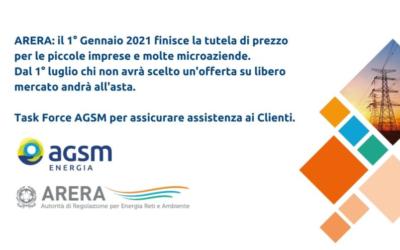 Finisce la Maggior Tutela per le piccole imprese e AGSM Energia invia 5.000 lettere per accompagnarle nella transizione