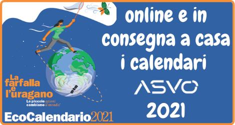 ASVO sta recapitando agli utenti i calendari per la raccolta differenziata. Sono e disponibili anche on line