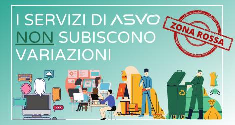 ASVO segnala che i servizi vengono regolarmente erogati nonostante il Veneto sia diventato zona rossa