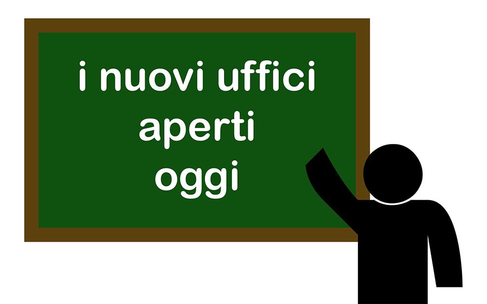 Aperti da oggi in via Italia a San Vendemiano i nuovi uffici amministrativi del Consiglio di bacino Sinistra Piave