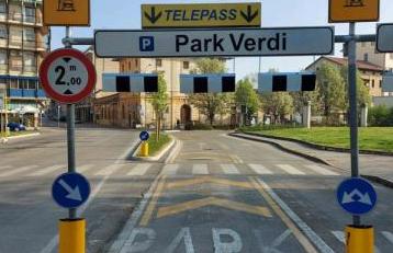 AIM Mobilità ha attivato il varco Telepass al park Verdi a Vicenza: si entra e si esce senza andare alle casse