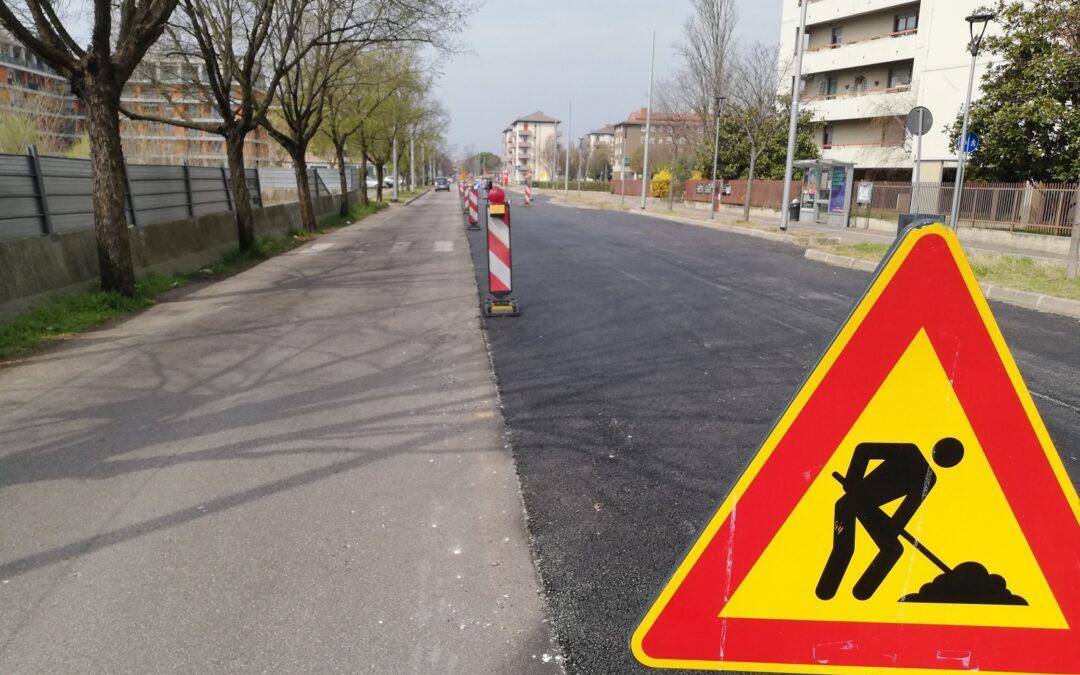 Filovia di Verona: in fase di completando i lavori nei cantieri aperti con conseguente ripristino della circolazione