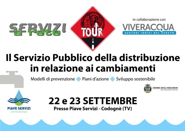 """Questa settimana l'evento """"Servizi a Rete Tour"""", in programma a Codognè con il patrocinio di Confservizi Veneto"""