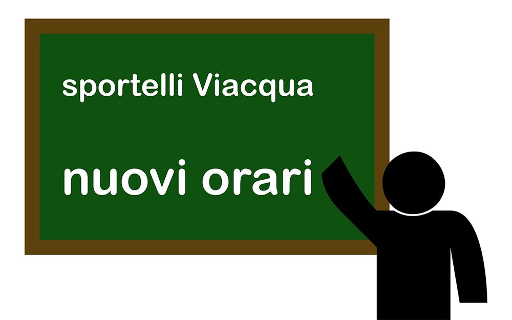 Nuovi orari da domani per gli sportelli utenti di Viacqua a Thiene e a Valdagno, con accesso previa prenotazione