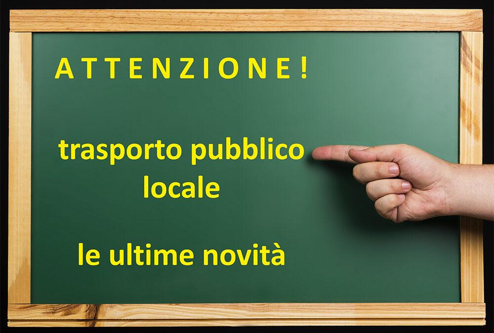 ACTV Venezia, ATV Verona, Mobilità di Marca e SVT Vicenza segnalano alcune modifiche dei servizi di trasporto