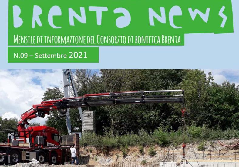 Diffuso oggi il numero di settembre del periodico mensile Brenta News. E' disponibile e consultabile anche on line