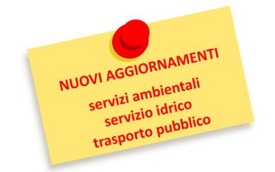Alcune variazioni dei servizi sono state comunicate dalle società BIM GSP, Contarina, ATV e Mobilità di Marca