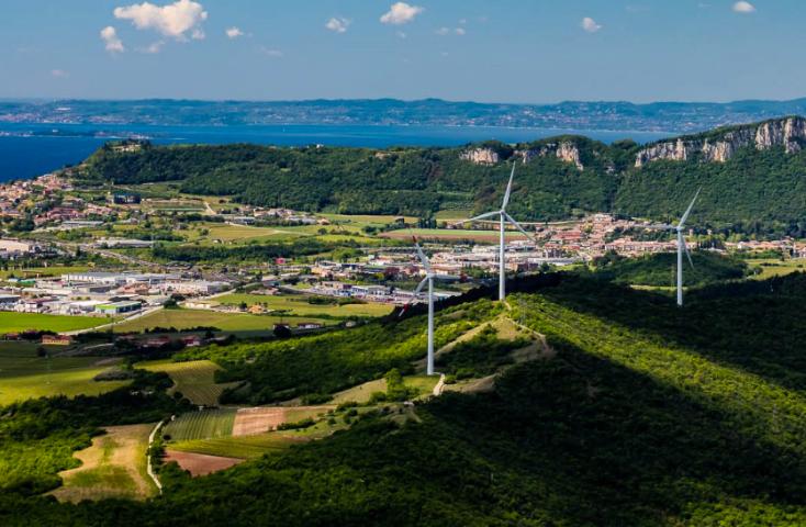 Legambiente presenta la nuova guida dei parchi eolici italiani, dove sono inseriti due impianti del Gruppo AGSM AIM