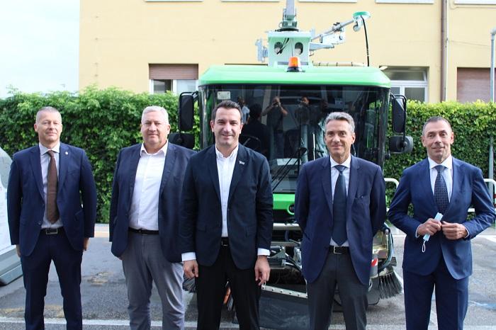 Azienda Eco Tirana: i vertici del Gruppo AGSM AIM e di AMIA hanno incontrato il sindaco della capitale albanese