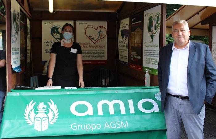 """Stand informativo di AMIA sino a domenica alla diciannovesima edizione de """"Le Piazze dei Sapori"""" a Verona"""