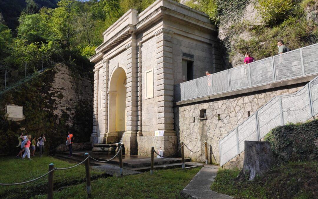 Alto Trevigiano Servizi riapre al pubblico domenica la Sorgente Tegorzo-Acquedotto Schievenin a Quero-Vas