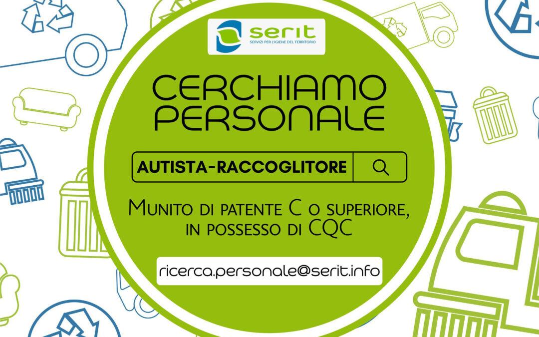 SERIT di Cavaion Veronese sta cercando autisti e raccoglitori muniti della patente C o superiore e di carta CQC