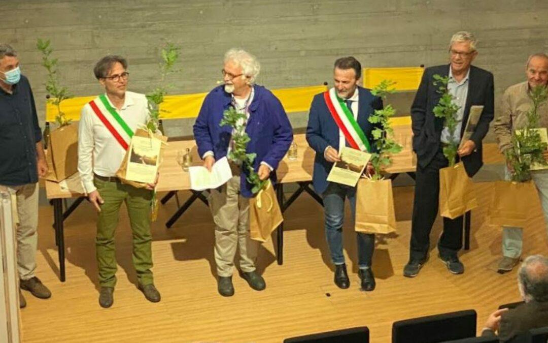 """Piccoli boschi crescono: questa mattina  proclamati i vincitori del """"Premio Jean Giono – L'uomo che piantava gli alberi"""""""