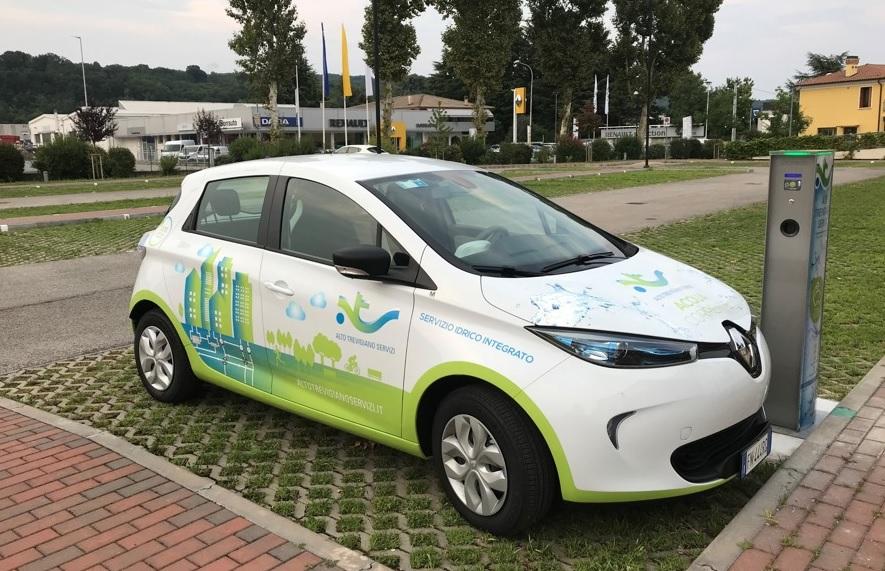 Sono a basso impatto ambientale ed elettrici il 94,1 per cento degli autoveicoli di Alto Trevigiano Servizi