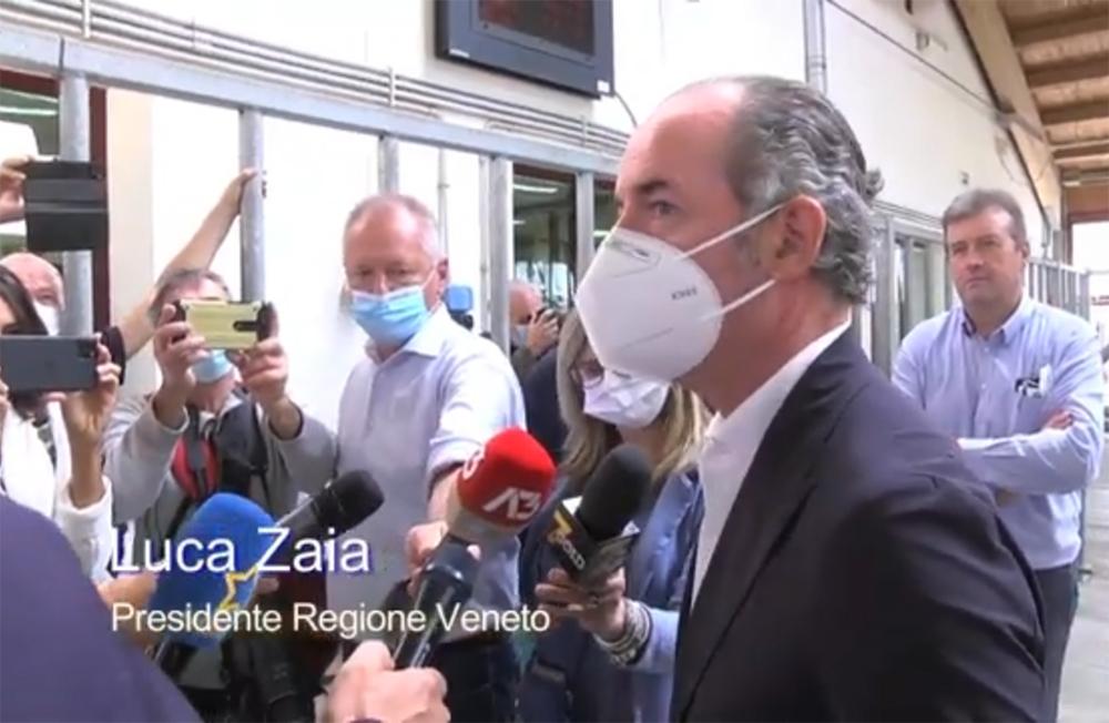 Veneto Agricoltura: è on line il video della visita del governatore Luca Zaia al Centro Tori di Intermizoo a ValleVecchia